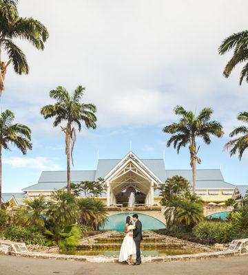 Tobago wedding reception - Dana and Sajeev. Photos by Gary Jordan