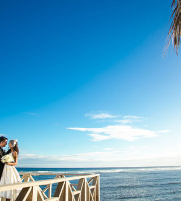 Tobago wedding reception - Dana and Sajeev. Photos by Gary Jordan