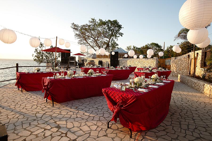 Jamaica Wedding Rockhouse Hotel Photos By Critsey Rowe