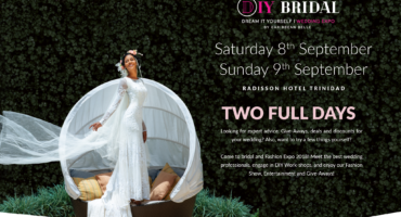 DIY Bridal Expo by Caribbean BELLE Saturday 8th September, 2018 Sunday 9th September, 2018 Radisson Hotel, Trinidad TWO Full days Looking for expert advice, give-aways, deals and discounts for your wedding? Also, want to try a few things yourself? Come to Bridal and Fashion Expo 2018! Meet the best wedding professionals, engage in DIY Work-shops and enjoy our Fashion Show, Entertainment and Give-aways.